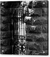 Gate To Grave  Acrylic Print