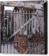 Gate To The Infirmary Acrylic Print