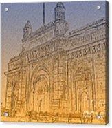 Gate Way Of India Acrylic Print