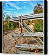 Gated Community Country Style Acrylic Print