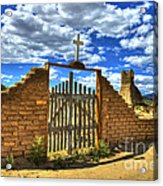 Gates To Eternity Acrylic Print