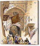 Gateway Of A Bazaar, Grand Cairo, Pub Acrylic Print