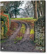 Gateway To Autumn Acrylic Print