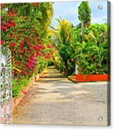 Gateway To Jamaica Acrylic Print