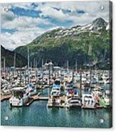 Gateway To Prince William Sound Alaska Acrylic Print by Kim Hojnacki