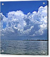 Gateway To The Gulf Acrylic Print