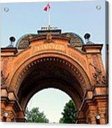 Gateway To Tivoli Gardens Acrylic Print