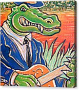 Gator Boogie Acrylic Print