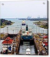 Gatun Locks Panama Canal Acrylic Print