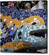 Gaudi Dragon Acrylic Print