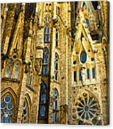 Gaudi - Sagrada Familia Acrylic Print