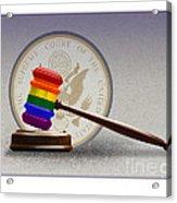Gay Marriage Acrylic Print