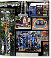 Gay Village 1 Acrylic Print