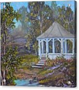 Gazebo And A Dream Acrylic Print by Michael Mrozik