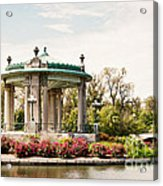 Gazebo At Forest Park St Louis Mo Acrylic Print
