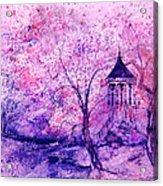 Gazebo IIII Acrylic Print