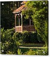 Gazebo In The Park   Acrylic Print