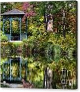 Gazebo Retreat Acrylic Print
