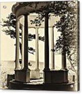 Gazebo Vintage Styled Acrylic Print