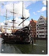 Gdynia Pirate Ship - Gdansk Acrylic Print
