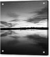 Peaceful Sunset Acrylic Print by Thomas Leon