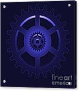 Gear - Cog Wheel Acrylic Print by Michal Boubin