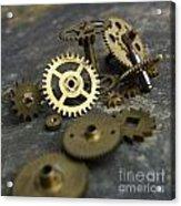 Gears Acrylic Print by Bernard Jaubert