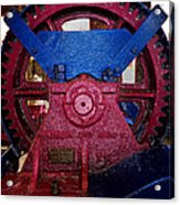 Gears Of Change Acrylic Print