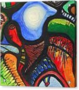 Gedachten Gangen  Acrylic Print