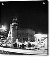 Gedachtniskirche Christmas Market On Kudamm Berlin Germany Acrylic Print