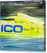 Geico Off Shore Racing Acrylic Print