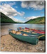 Geirionydd Lake Acrylic Print