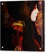 Geisha 4 From Geisha Series Acrylic Print