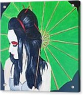Geisha Acrylic Print