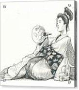 Geisha Iv Acrylic Print