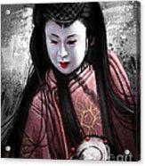 Geisha Kunoichi Acrylic Print
