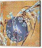 Geisha Moon Acrylic Print