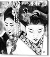 Geisha No.160 Acrylic Print by Yoshiyuki Uchida