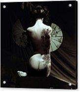 Geisha Acrylic Print by Shanina Conway
