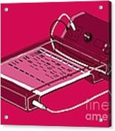 Gel Electrophoresis, Illustration Acrylic Print