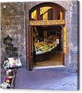 Gelateria Siena Acrylic Print