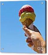 Gelati Ice Cream Cone Acrylic Print