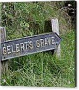 Gelerts Grave Acrylic Print