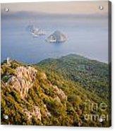 Gelidonia Headland At Sunset 2 Acrylic Print