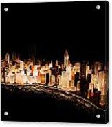 Gemstone City Acrylic Print
