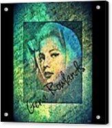 Gena Rowlands Acrylic Print