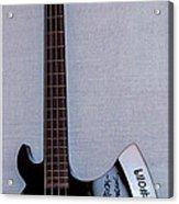 Gene Simmons Hatchet Bass Guitar Acrylic Print