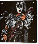 Gene Simmons Of Kiss Acrylic Print