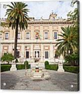 General Archive Of The Indies In Seville Acrylic Print
