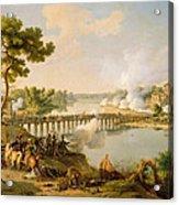 General Bonaparte Giving Orders At The Battle Of Lodi Acrylic Print